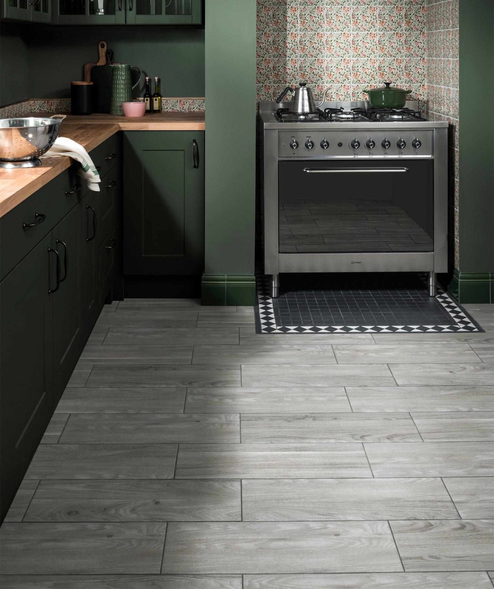 Woodeves™ Grey Tile