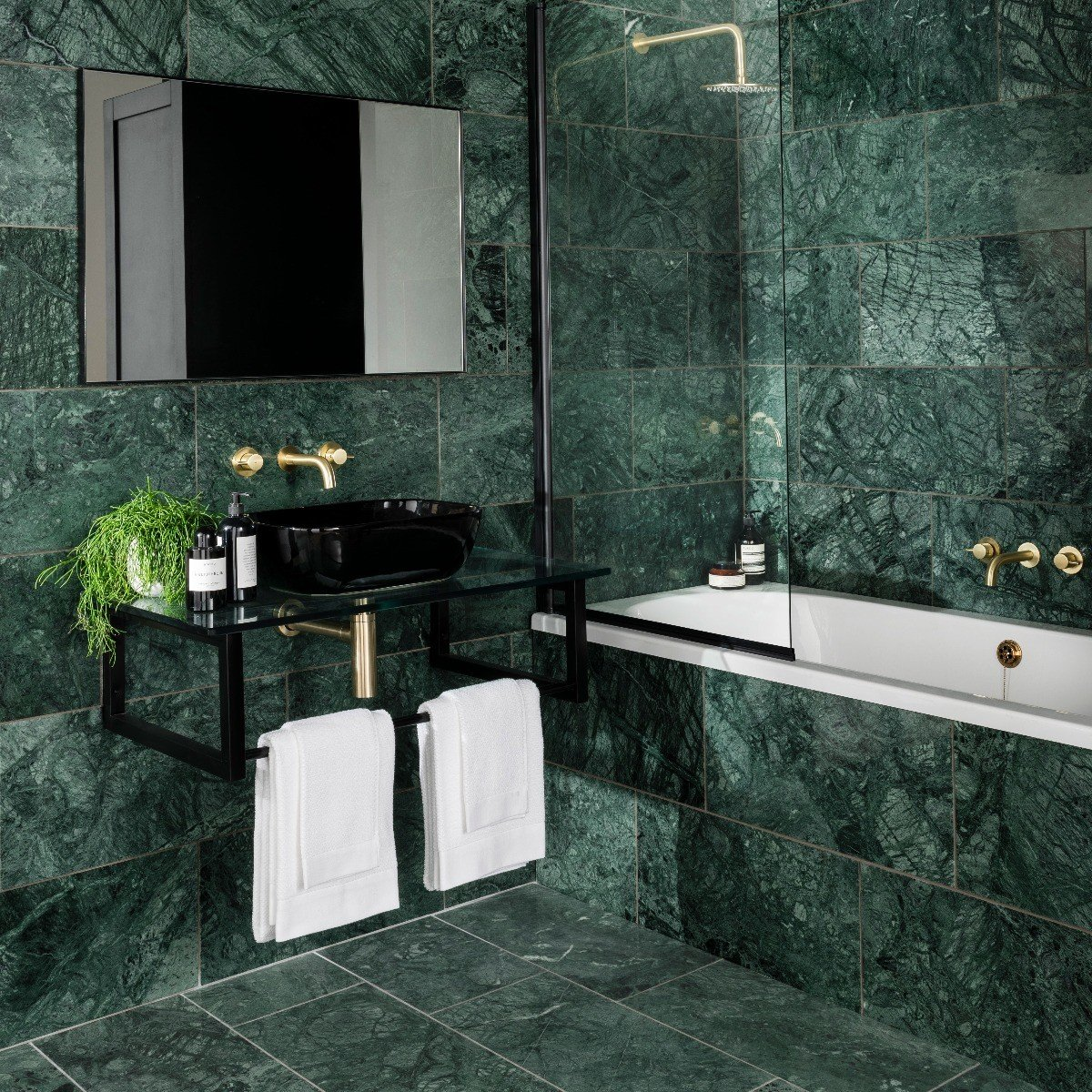 emerale marble tile