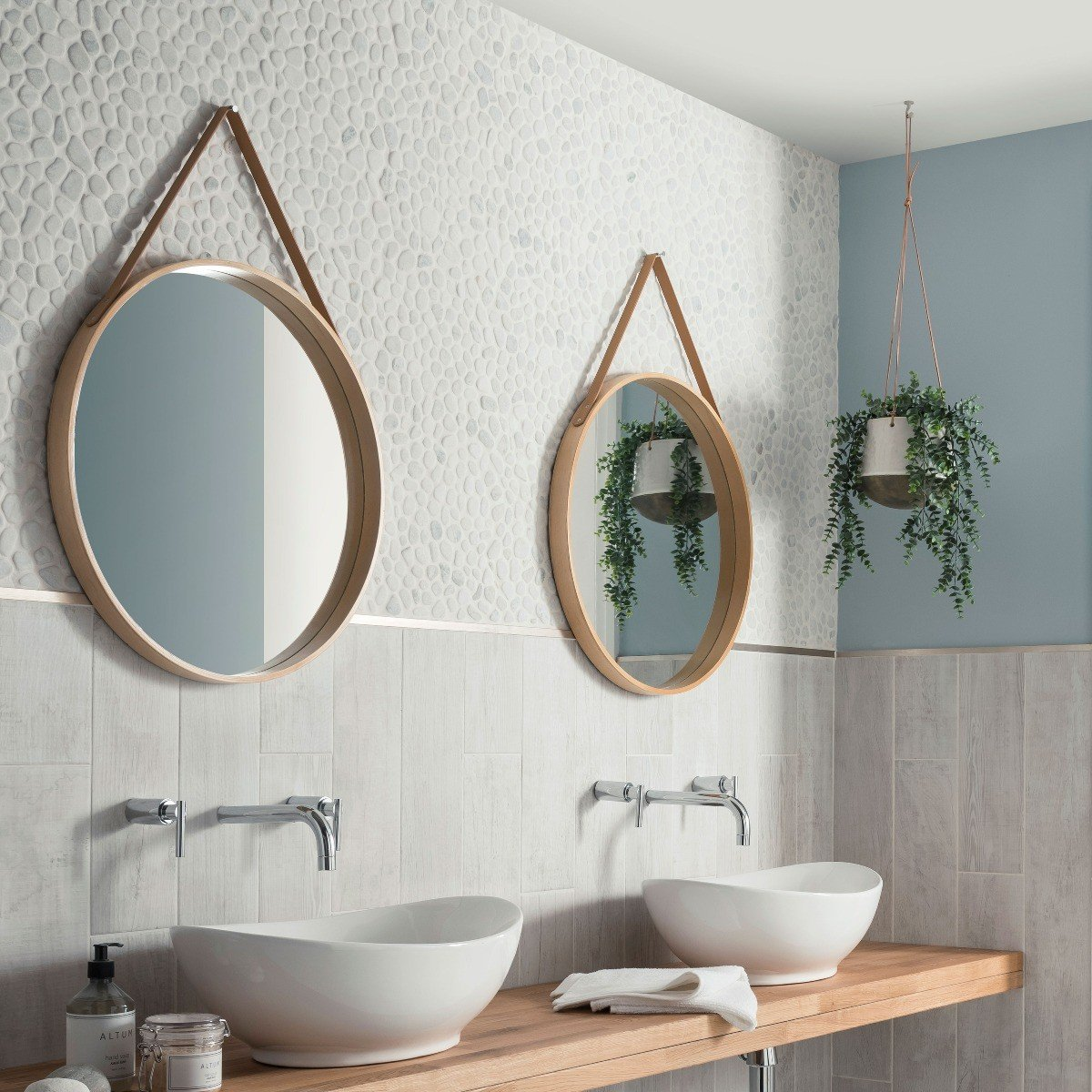 Pebbles Stone Tile Collection Topps Tiles, Bathroom With Pebble Tiles